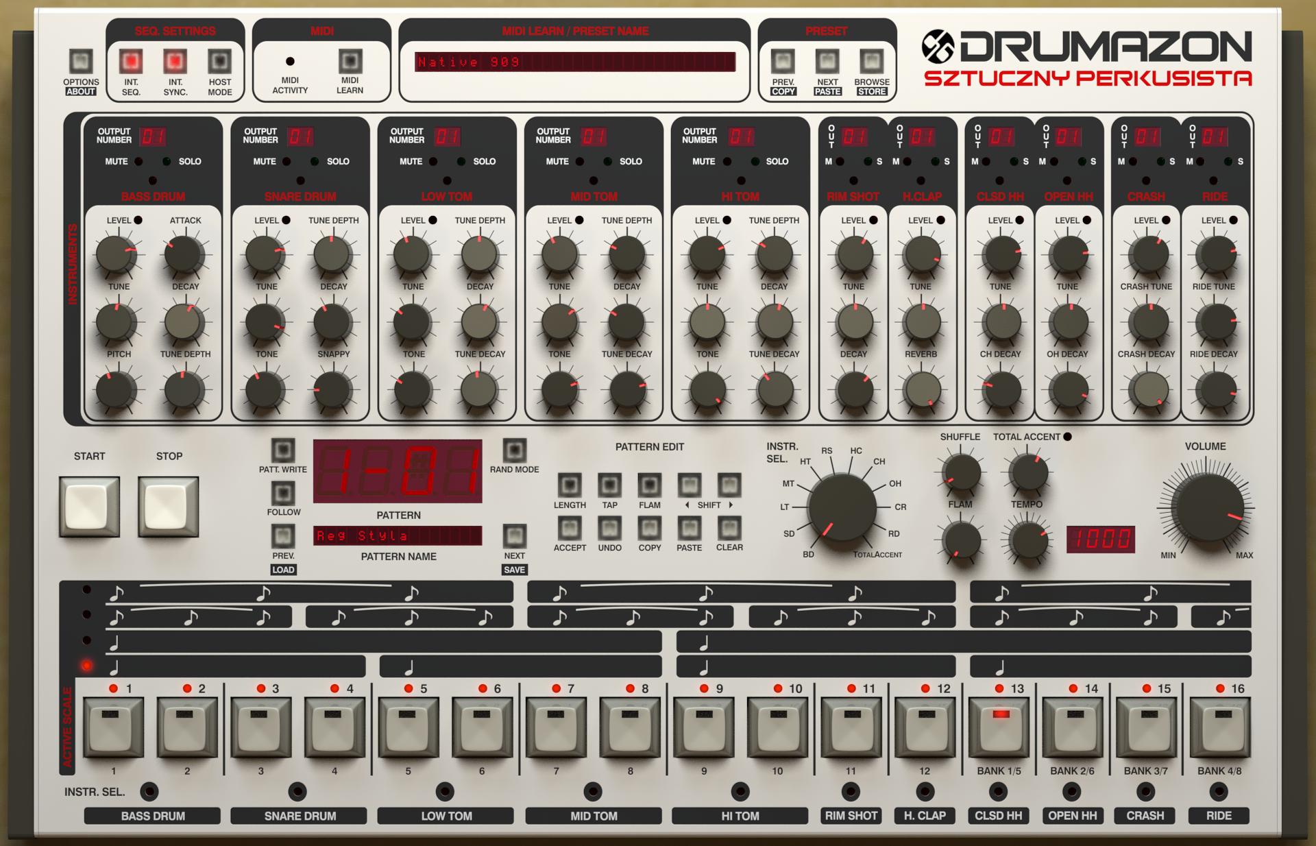 Drumazon full screenshot